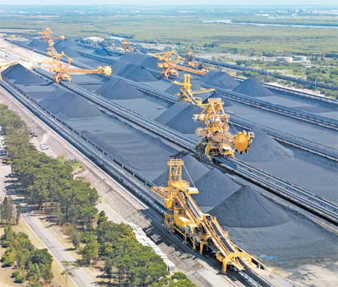 The majority of Hunter Valley coal producers utilise the Port Waratah Coal Services terminals.