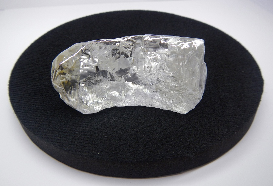 The record-breaking 404.2 carat, Type IIa D-colour diamond has an estimated value of $20 million.