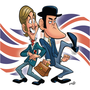 John Cleese and Eric Idle web