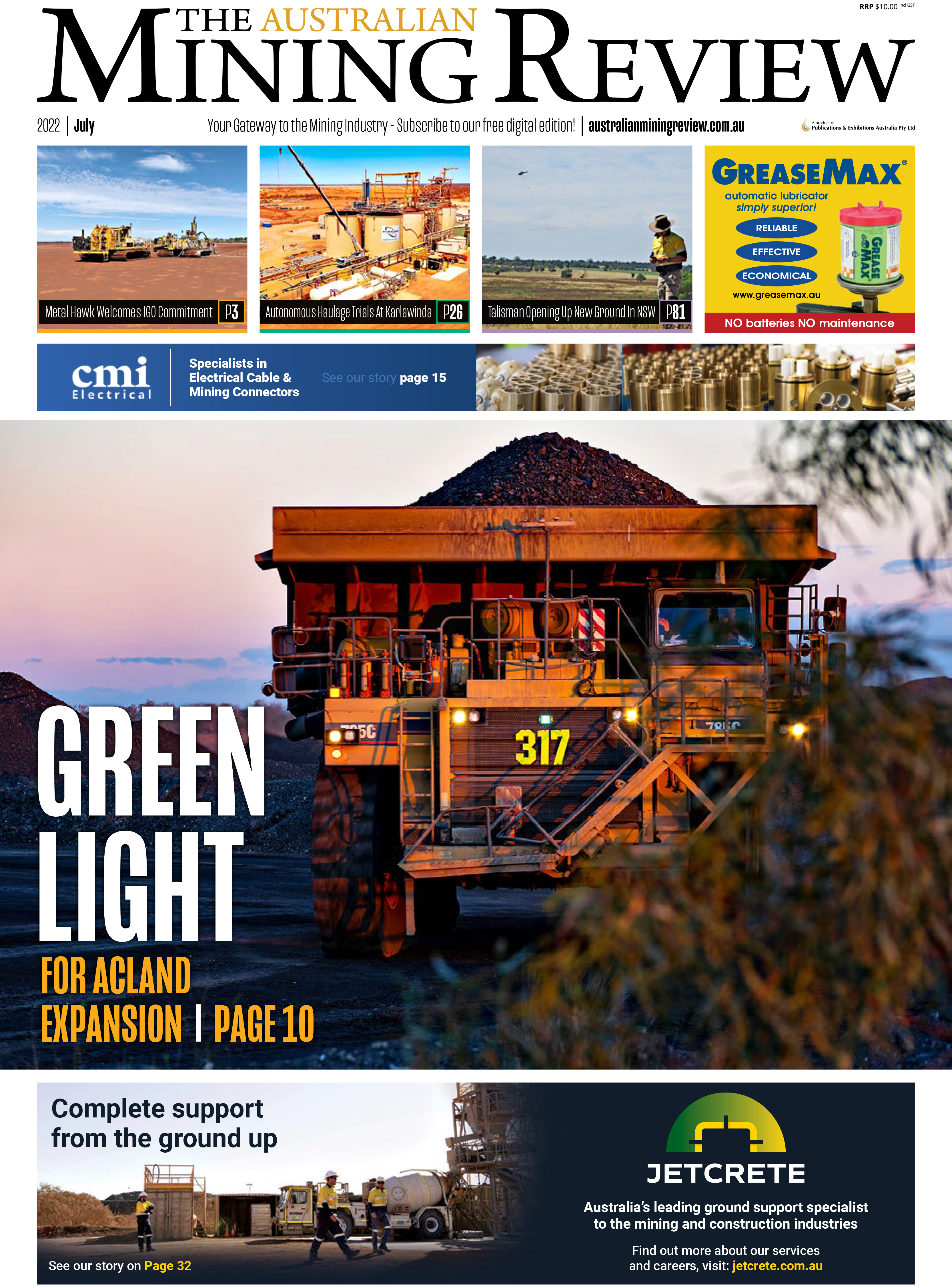 The Australian Mining Review: Latest Edition