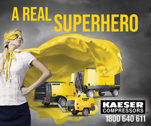 KAESER - A Real Superhero